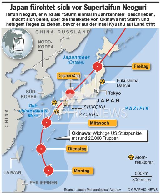 wetter in japan