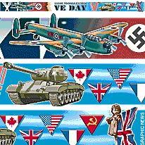 VE Day strap 6 infographic