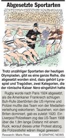 Why: Abgesetzte Sportarten infographic