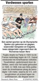 OL. SPELEN: Verdwenen sporten infographic
