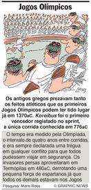 Jogos Olímpicos infographic