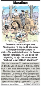 OL. SPELEN: Marathon infographic