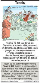 OL. SPELEN: Tennis infographic
