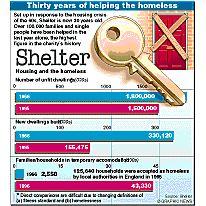 Shelter anniversary infographic
