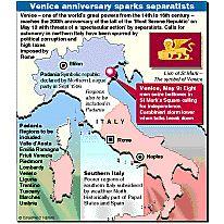 Venice anniversary infographic