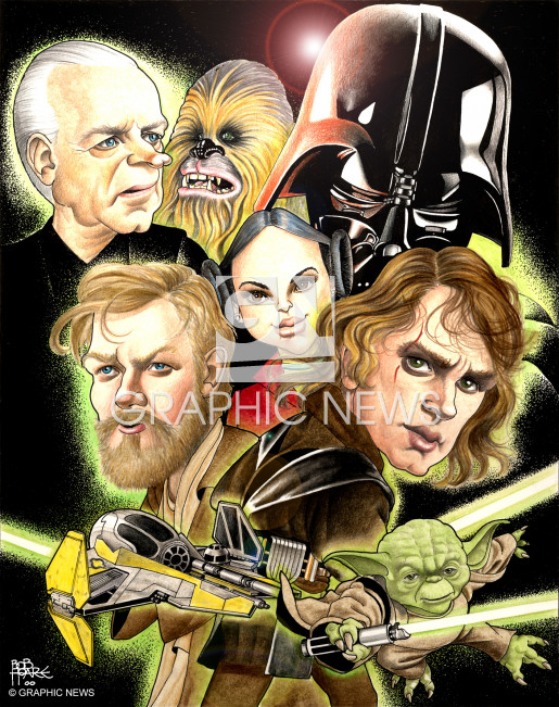 Movies Star Wars Iii Revenge Of The Sith Infographic
