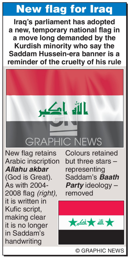 New national flag approved infographic