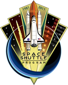 SPACE: Shuttle programme patch infographic