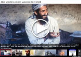 AL QAEDA: Bin Laden slideshow interactive infographic