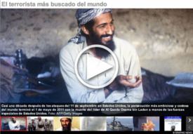Al Qaeda-Bin Laden - slideshow interactivo infographic