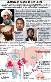 A Al-Qaeda depois de Ben Laden infographic