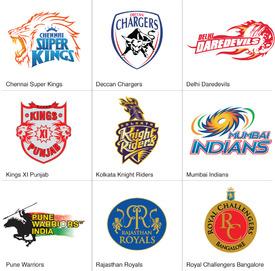 CRICKET: IPL crests 2012 infographic