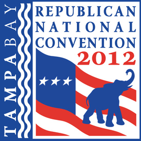 LOGO: Republican National Convention 2012 infographic