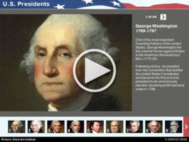 U.S.: Presidents iGraphic (1) infographic