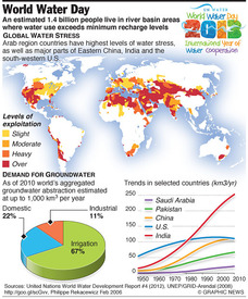 ENVIRONMENT: World Water Day infographic
