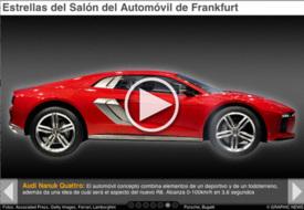 MOTORING: Star cars at Frankfurt Motor Show iGraphic infographic