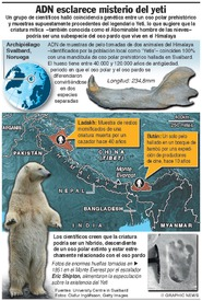 CIENCIA: El ADN esclarece el misterio del yeti (1) infographic