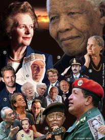 FIN DE AÑO: Últimos adioses 2013 infographic