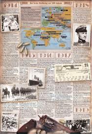 HUNDERT JAHRE WK1: Ablauf des Krieges infographic