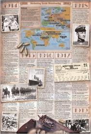 HERDENKING WO I: Tijdpad Eerste Wereldoorlog infographic
