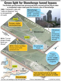 CONSERVATION: Stonehenge tunnel infographic