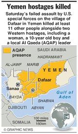 YEMEN: Failed U.S. hostage rescue (1) infographic