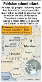 PAKISTAN: Peshawar school attack (1) infographic