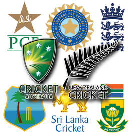 CRICKET: World Cup 2015 team crests infographic