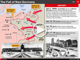 VE DAY 70: Fall of Nazi Germany WWII iGraphic (1) infographic