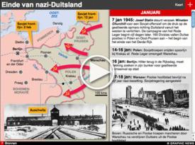BEVRIJDINGSDAG 70: Einde van nazi-Duitsland WOII iGraphic (1) infographic