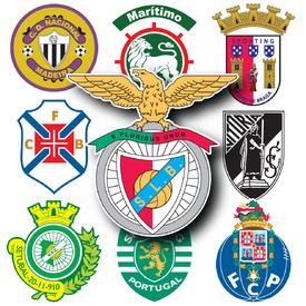 SOCCER: Portuguese Primeira Liga crests 2015-16