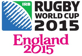 RUGBY: Rugby World Cup 2015 logo infographic