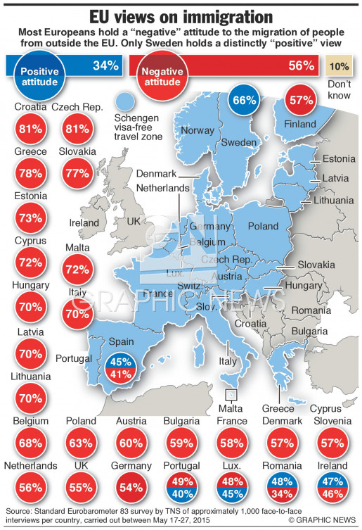 Views on migration (1) infographic