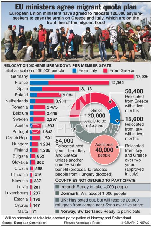 Quota agreement infographic