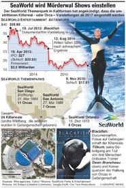 UMWELT: SeaWorld will Killerwal Shows einstellen infographic