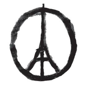 LOGO: Peace for Paris infographic