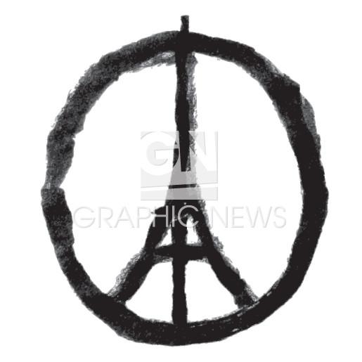 Peace for Paris infographic