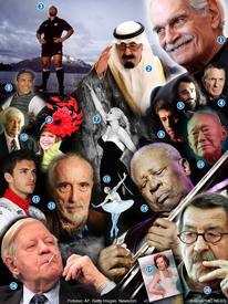 نهاية العام: الوداع الأخير ٢٠١٥ infographic