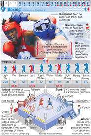 RIO 2016: Olympic Boxing (1) infographic
