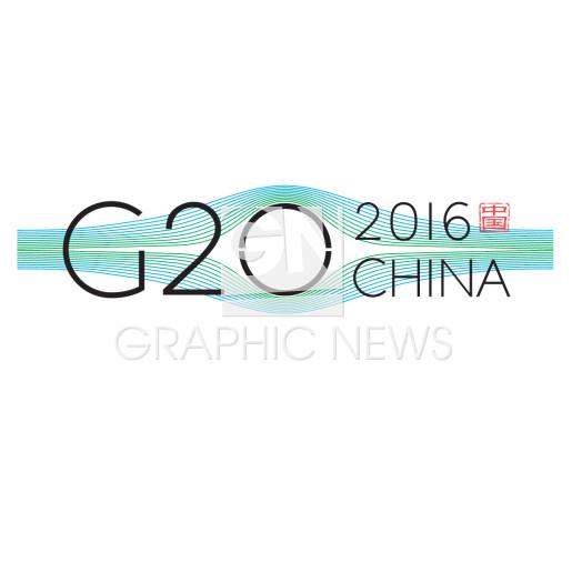G20 summit logo infographic