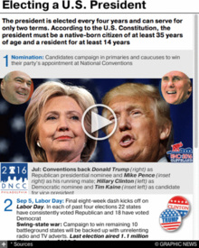 U.S. ELECTION: Presidential explainer interactive (1) infographic