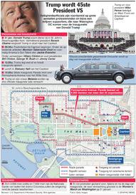 VS: Inauguratie Trump infographic