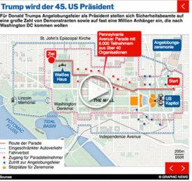 U.S.: Trump Inauguration interactive (1) infographic