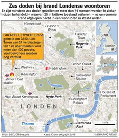 RAMPEN: Brand in Londense woontoren / update infographic