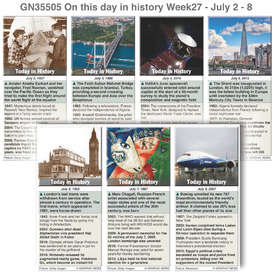 ON THIS DAY: July 2-8 2017 (week 27) infographic