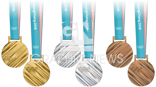 Olympic medals infographic