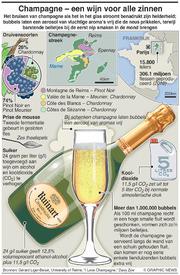 CHAMPAGNE: Bubbels – wijn voor alle zinnen infographic