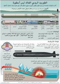 عسكري: الطوربيد الروسي الفتاك ليس أسطورة infographic