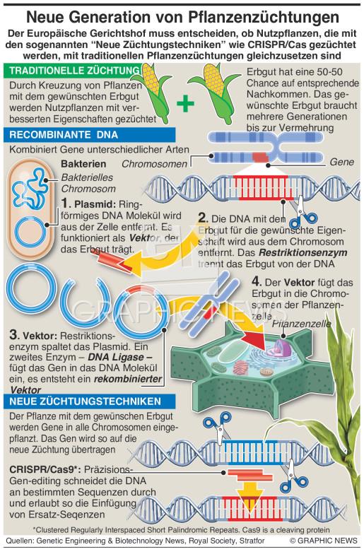 Neue Generation von Pflanzenzüchtungen infographic
