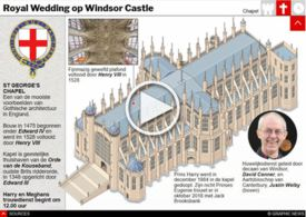 ROYAL WEDDING: St George's Chapel interactive infographic